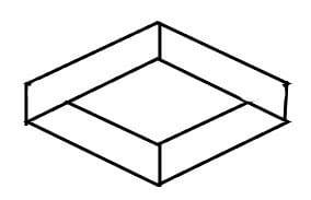 Illustratie van een hek 2